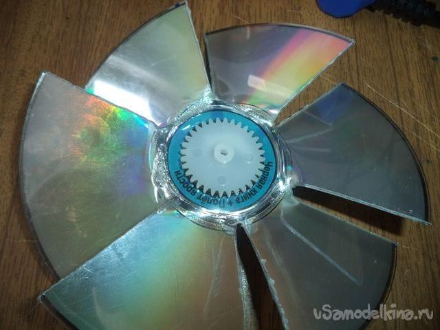 Самодельный вентилятор с регулятором мощности