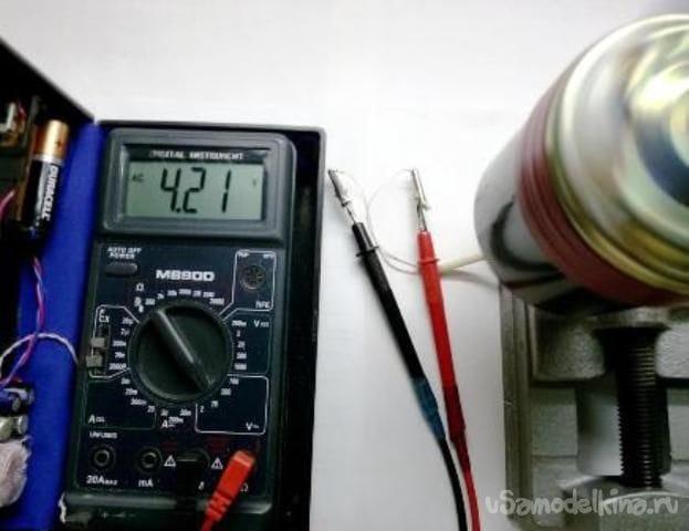 Ветрогенератор на базе стартера