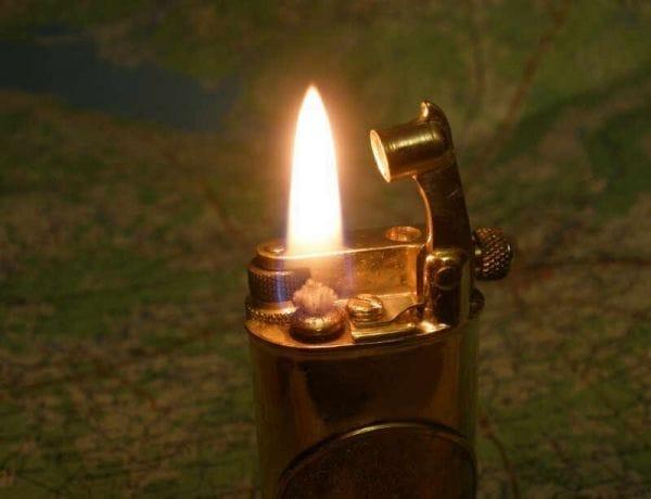 Зажигалка с вертикальным валиком своими руками