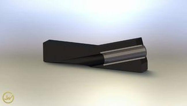 Кондуктор для сверления под углом к плоскости