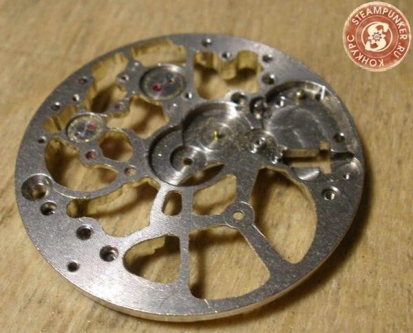 Часы наручные «скелетон» своими руками
