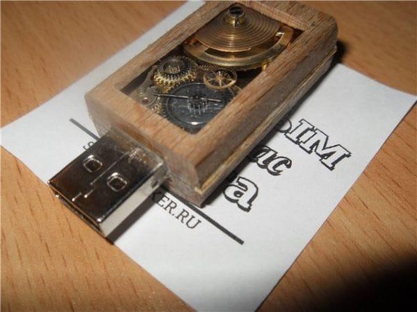 Флешка «Steam puzzle» своими руками