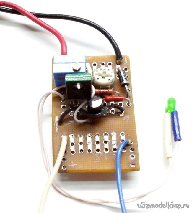 Зарядное устройство для литий-ионного аккумулятора