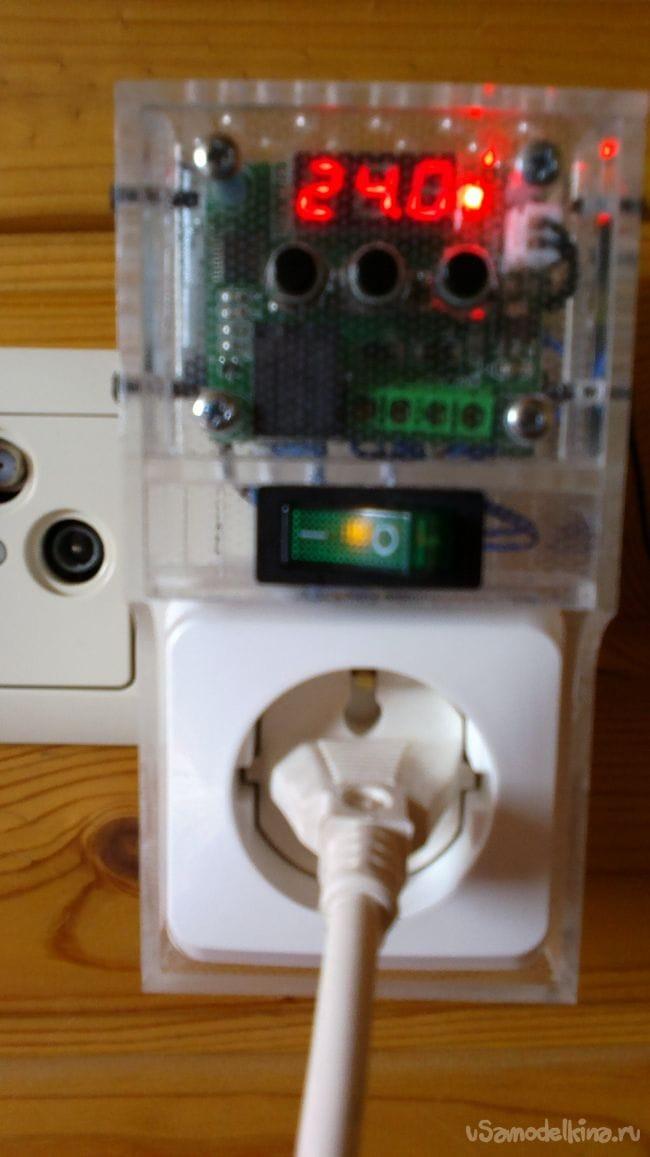 Терморегулятор для дачного обогревателя