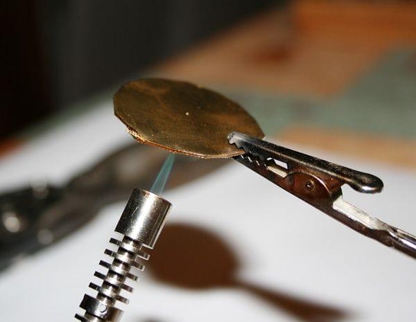 Волчок Julus травление рисунка на металле