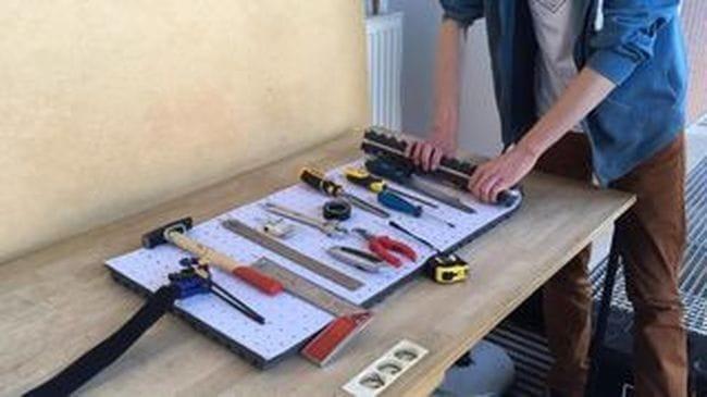 Коврик-органайзер для инструмента