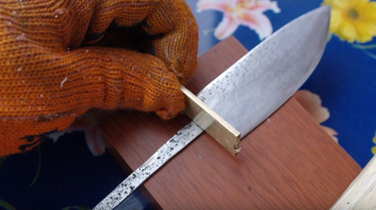 Нож из полотна своими руками