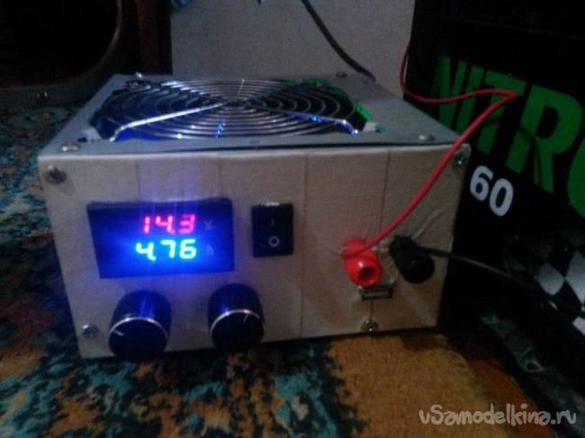 24в из компьютерного блока питания 155