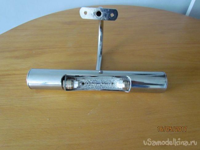 Переделка галогенового светильника на светодиодный