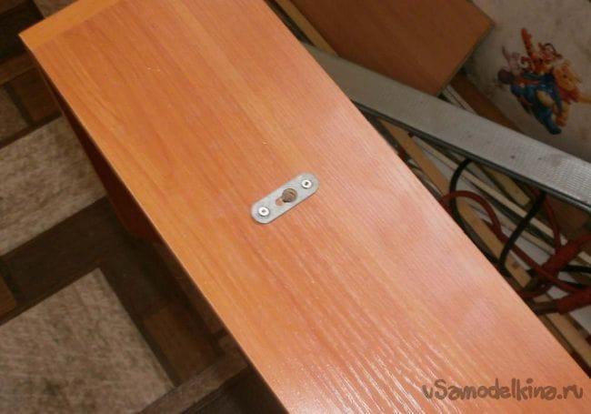 Делаем столик без ножек