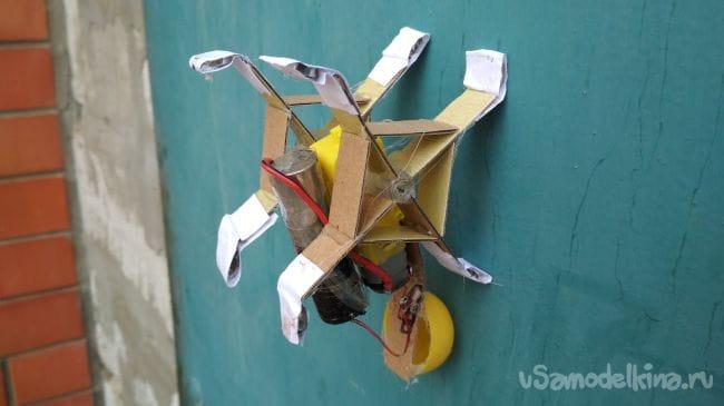Как сделать простого робота «стенолаза» своими руками!