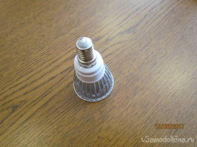 Переделка светодиодной лампочки 4 Вт в экономную 0,4 Вт