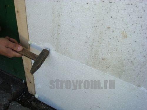 Как утеплить дом снаружи своими руками