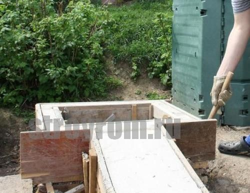 Коптильня холодного копчения из бетона