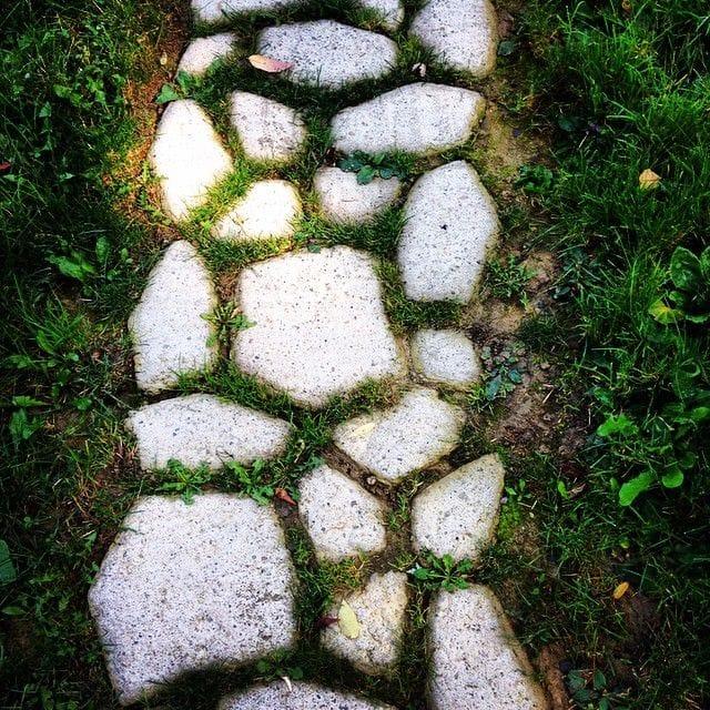 Тротуар из камня своими руками 81