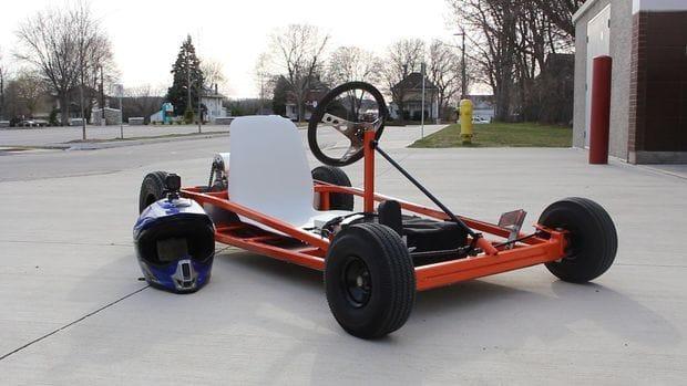 Делаем электрический картинг Go Kart