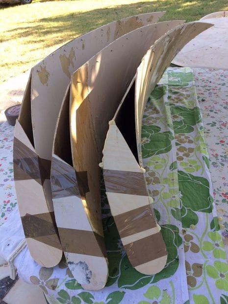 Самодельный ветряк парусного типа
