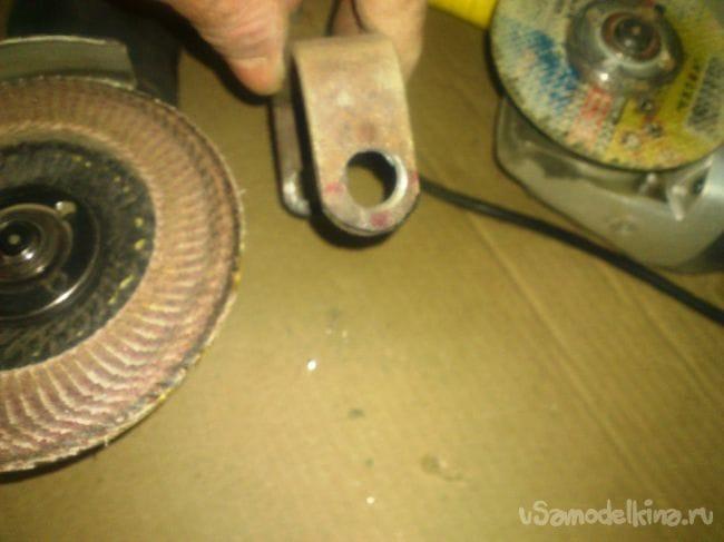 Простейший курвиметр из элементов сгоревшей «болгарки» своими руками