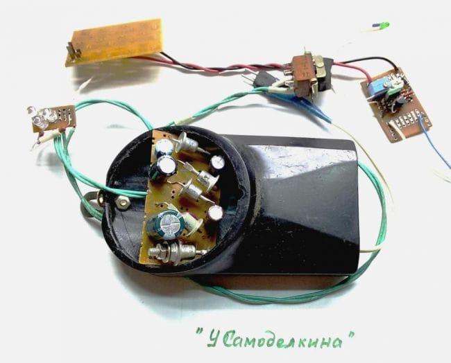Автономный блок питания на базе ветрогенератора