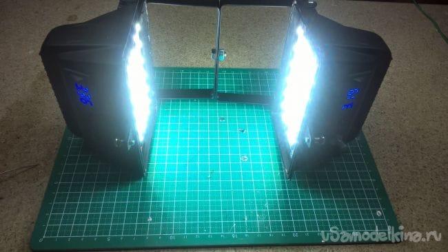 Софтбоксы на светодиодных лентах