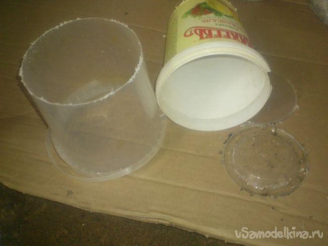 «Дачные грибы» из остатков бетона или раствора
