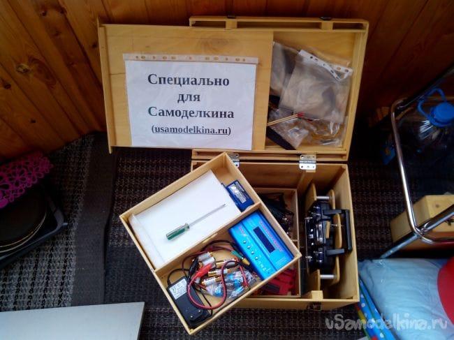 Полетный ящик из фанеры