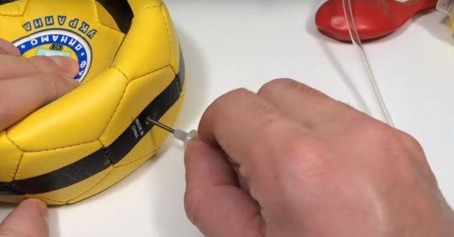 Ручной мини насос своими руками