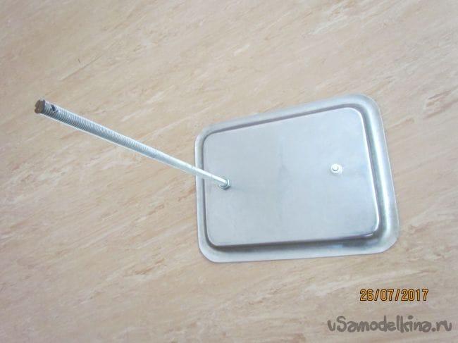 Светодиодный ночник из раковины устрицы