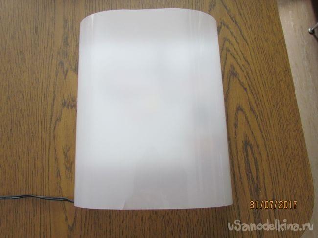 Мощный светодиодный светильник на керамическом радиаторе