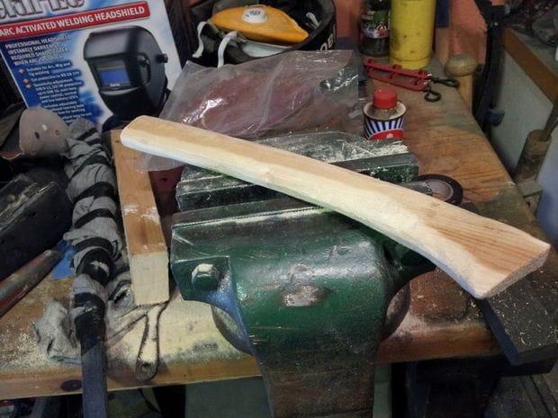 Делаем декоративный меч мачете
