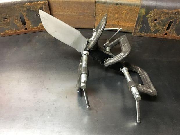 Качественный самодельный нож своими руками