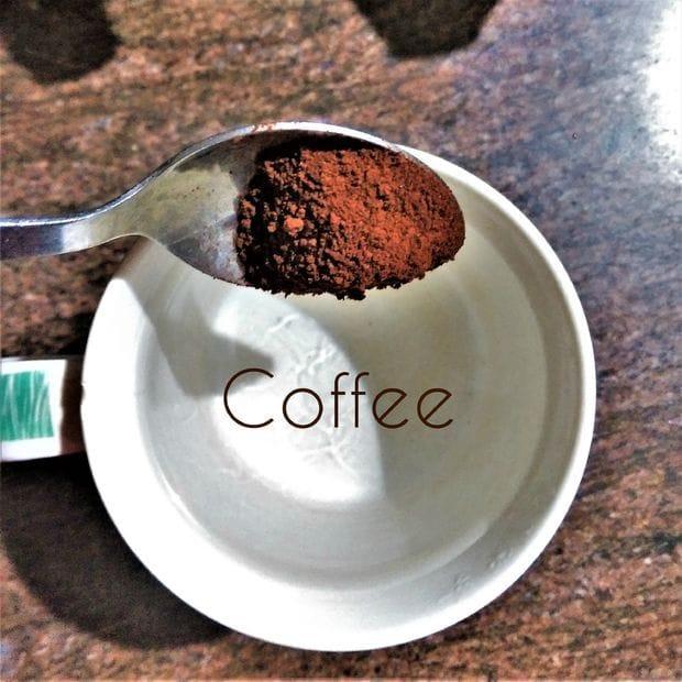 Как сделать натуральную морилку из кофе и чая