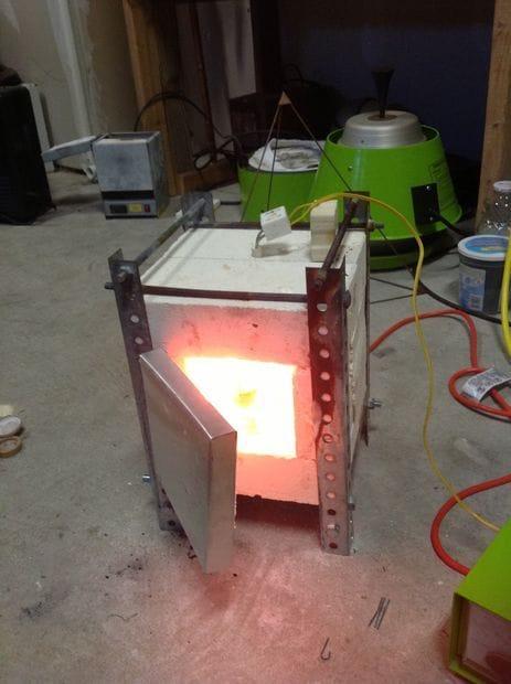 Самодельная электропечь для плавки металлов