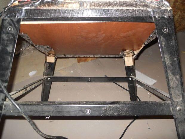 Пылеулавливающий ящик для циркулярной пилы