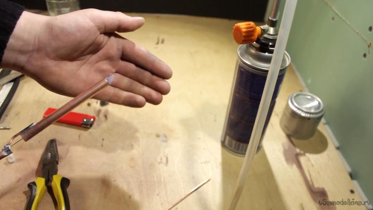 Самодельная газовая горелка своими руками