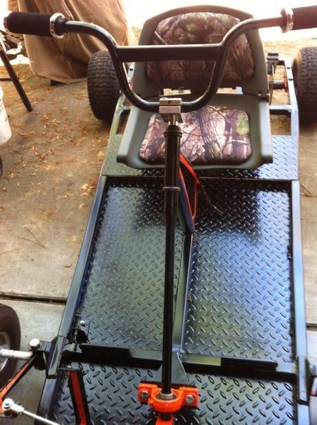 Собираем Go-Kart на бензиновом двигателе