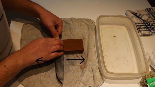 Качественный кухонный нож своими руками