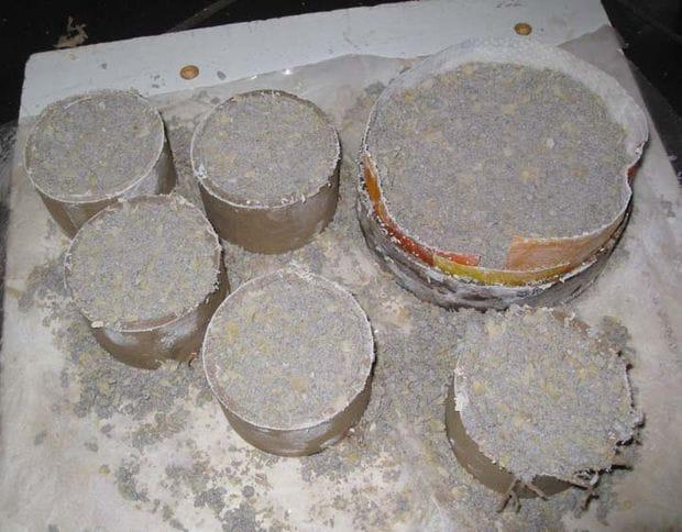 Газовая печь для плавки алюминия и бронзы
