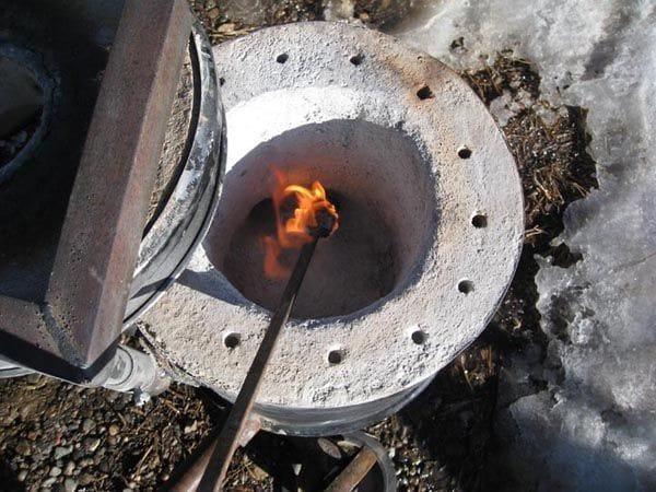 Печи для плавки цветного металла своими руками 33
