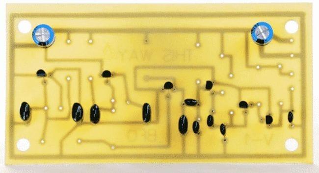 Простой и чувствительный металлоискатель на двух осцилляторах