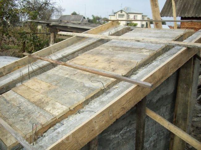 Строительство бетонного погреба