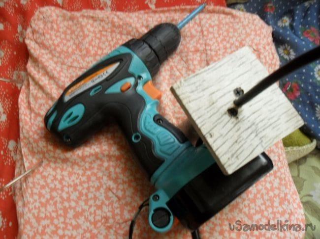 Электрический удлинитель в... пластмассовой канистре