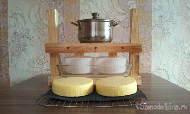 Пресс для изготовления сыра в домашних условиях