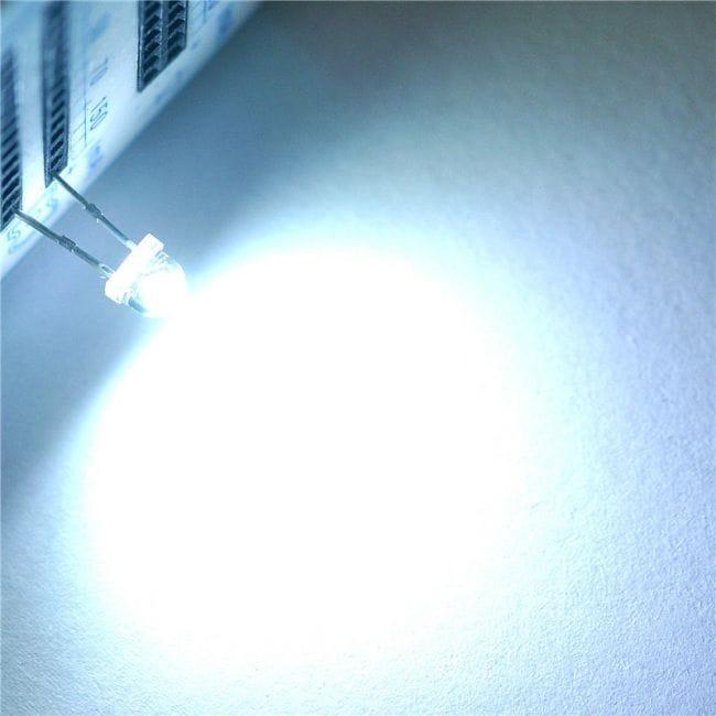 Яркие светодиоды с AliExpress. Комплект - 100 шт.