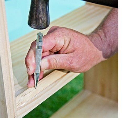 Как установить полки на двери