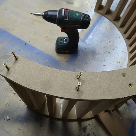 Как сделать фигурный стул своими руками