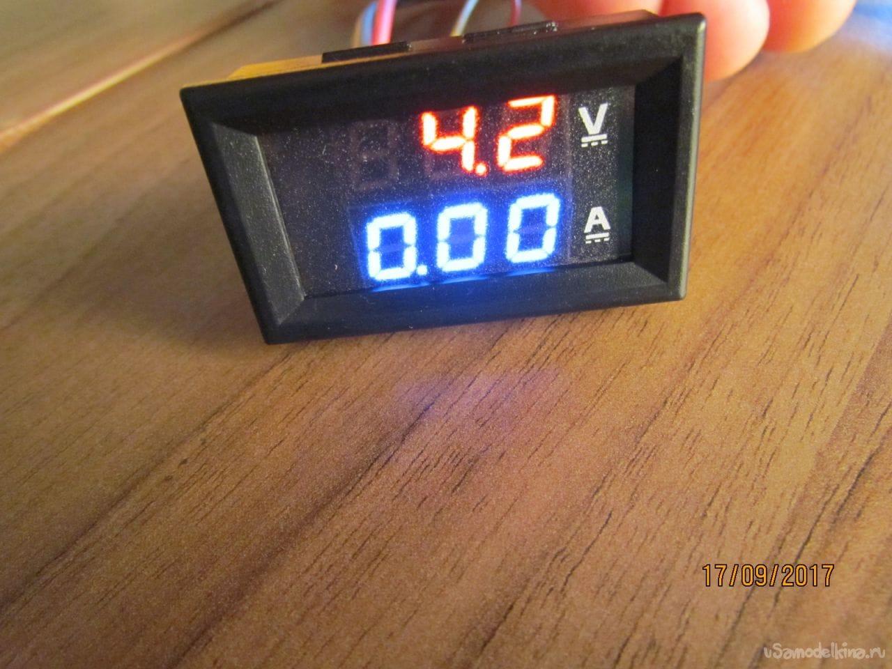 Цифровой вольтметр для авто своими руками