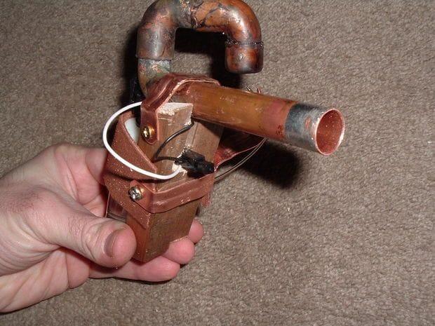 Картофельный пистолет на пару