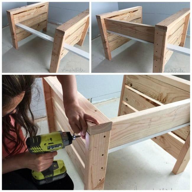 Как сделать простое кресло из досок