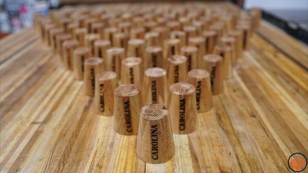 Деревянные стаканчики из поддонов